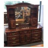 Pine Low Dresser w/Optional Top