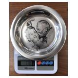 Franklin Mint Norman Rockwell Sterling Plate