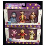 Two Unopened Boxes of Winnie the Pooh Collectible