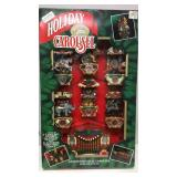 New in Box Holiday Carousel Musical Light Set