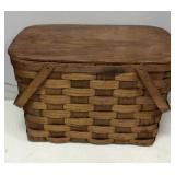 Large Double Handled Picnic Basket