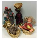 Lot of Miscellaneous Dolls/Figurines