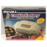 Rival Cookie Factory New In Original Box