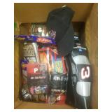 Box lot of asst Nascar Collectible Items