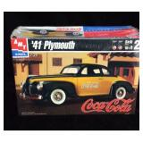 CocaCola 1941 Plymouth Model Kit -New in box