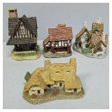 Four David Winter houses