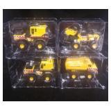 Lot of 4 New Small Tonka Toys