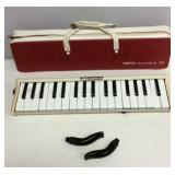Vintage Yamaha Pianica 34 with Carrying Case and