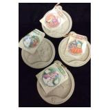 Lot of 4 Nursery Rhyme Character Cookie Molds