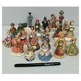 Group of ceramic figures