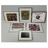 Washington Redskins framed items