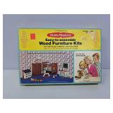 Doll house furniture kit