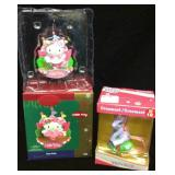 Hello Kitty and My Little Pony Ornaments