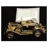 Gold Plated 1931 Ford Model A Roadster