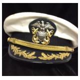 Vintage US Navy Commander Hat