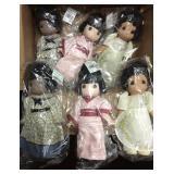 Lot of 6 New Precious Moments Dolls