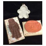 Noah's Art Terra Cotta Cookie Mold, Ceramic