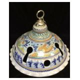 Hand Painted Keyhole Chandelier
