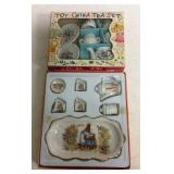 Two Children's Toy China Tea Sets