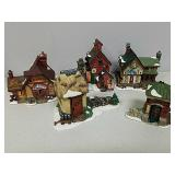 Group of small holiday houses