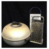 Vintage Westbend Serving Oven And Two Shredders