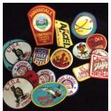 Assorted Retro Patches/Iron Ons