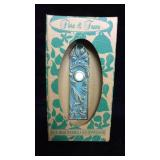 Flora and Fauna Solid Brass Doorbell