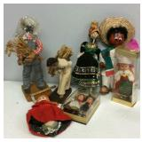 Assortment of Vintage Dolls