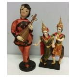 Vintage Asian Dolls