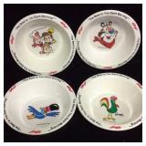 Kellogg's Vintage Cereal Bowls