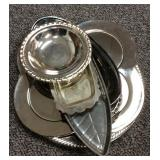 Lot of Silver Tone Items