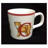 Tiffany & Co Alphabet Bears Mug  for Children