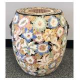 Beautiful Oriental ceramic garden stool