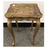 Italian Florentine style small side table