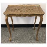 Italian Florentine style side table