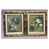 Pair of oriental style prints