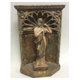 Vintage Greek maiden statue