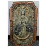 Virgin of Guadalupe retablo