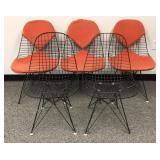 Charles Eames for Herman Miller- set of 5 DKR
