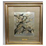 Limited Edition Chokin art by Yoshinobu Hara