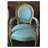 Cushioned Arm Chair