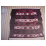 """NEW - """"Indian Trade"""" Blanket / Throw"""
