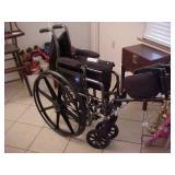 Folding Medline Wheel Chair