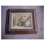 Art Deco Framed Print