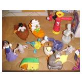 Opened McDonald Happy Meal Toys