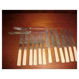 Vintage Knife and Fork Sets