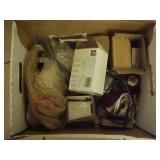 Box Lot of Electrical Supplies