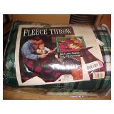 NEW Fleece Throw