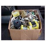 Box of Appliance Repair Parts