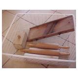 Miscellaneous Wire Basket Lot